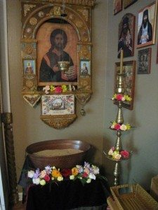 Our OCF chapter used to clean and decorate the church for Pascha.