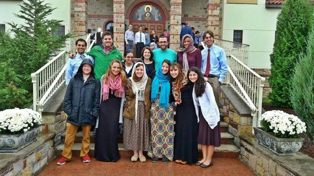 Students on Retreat