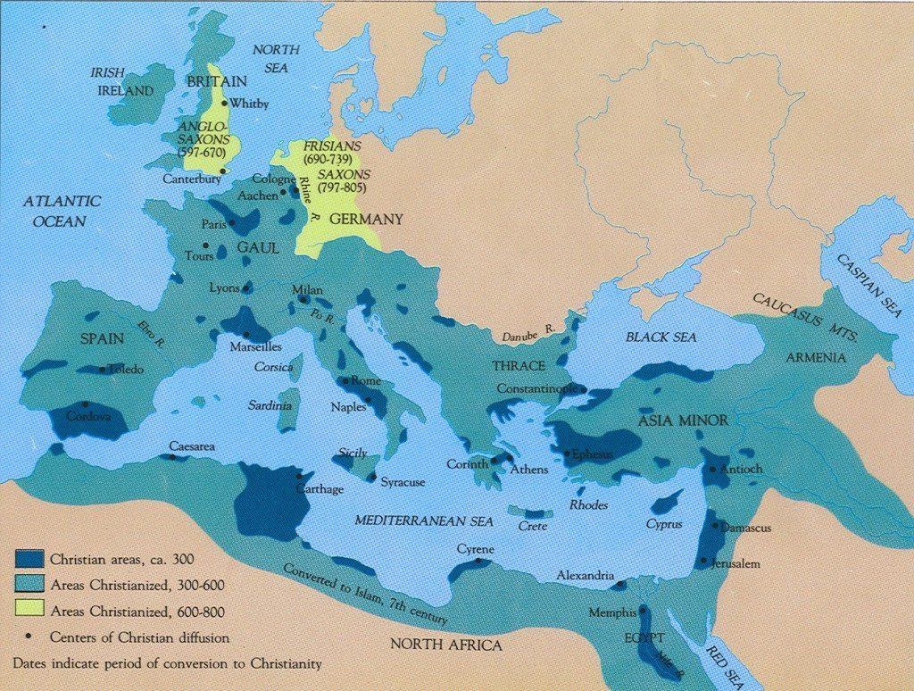 Early Spread of Christianity