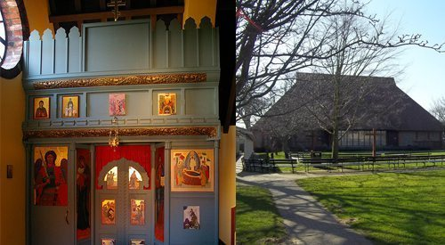 Meant to be an ecumenical house of worship, the Shrine, as its known, hosts a series of small prayer rooms for members of various faiths.