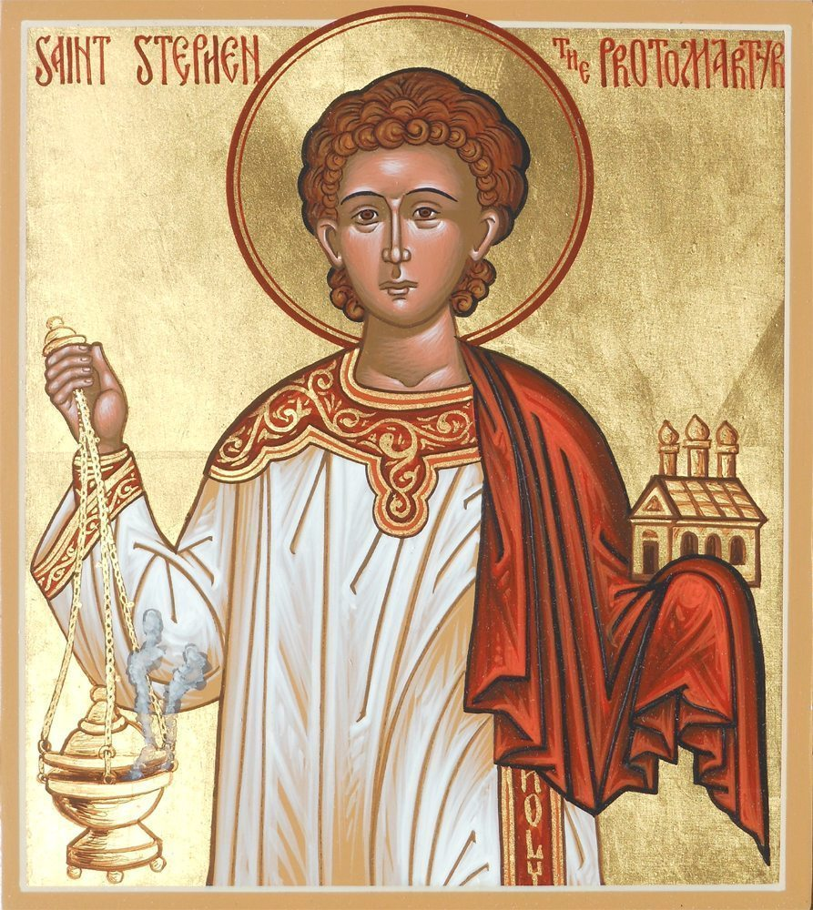 Icon by the hand of Dn. Matthew Garrett, used with permission.