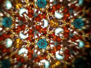"""View of a kaleidoscope"" - photo taken by H. Pellikka taken from WikiMedia Commons"