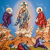 Iconography Painting Transfiguration Of Christ