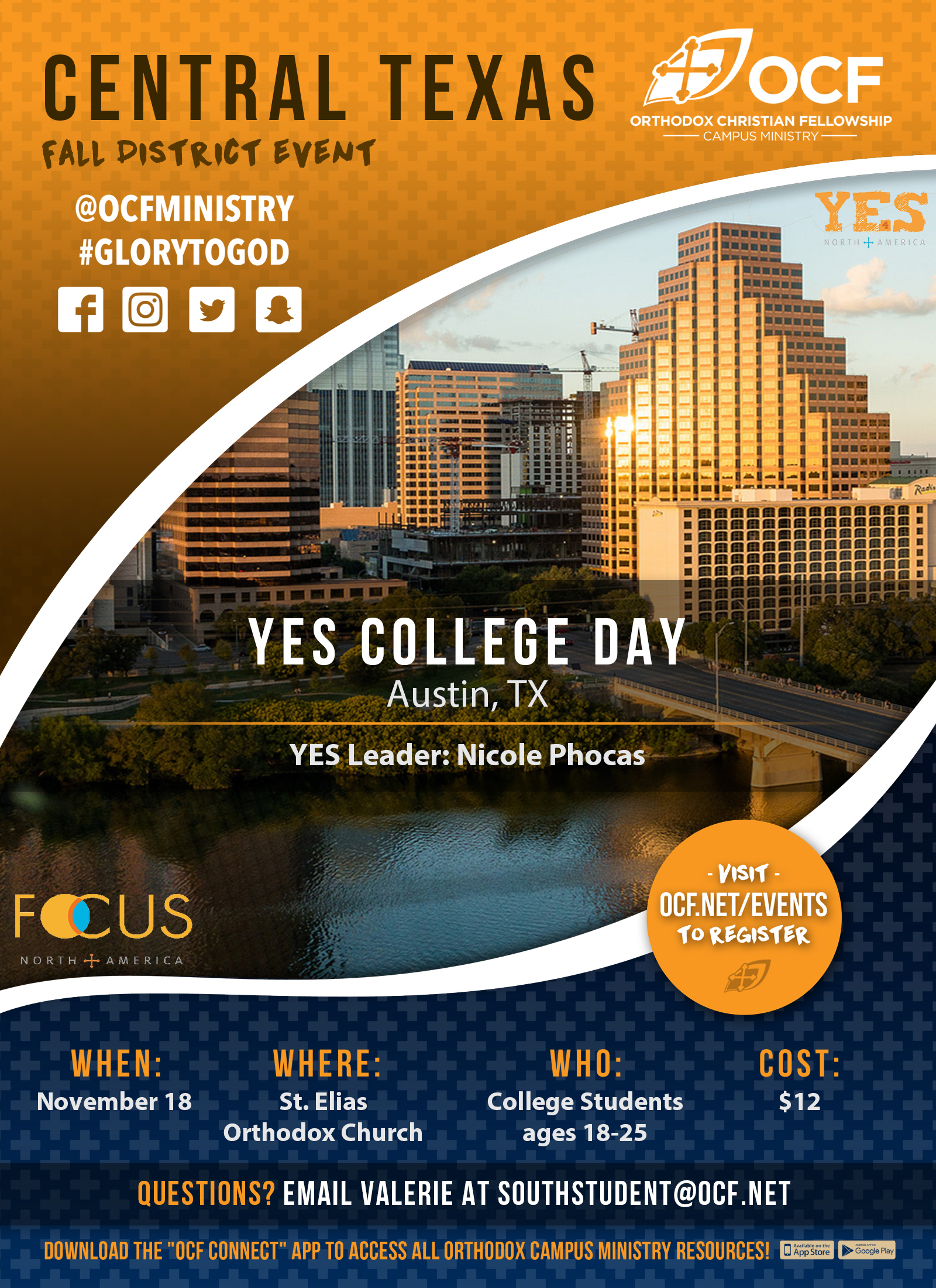 Fall 2017 Central Texas YES College Day