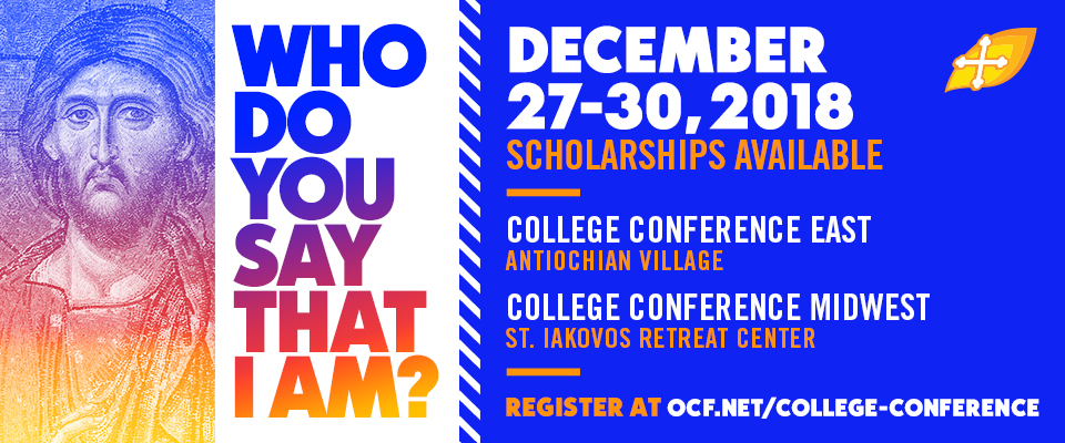 each year during christmas break ocfs college conference hosts hundreds of college students from across north america for four days of fellowship