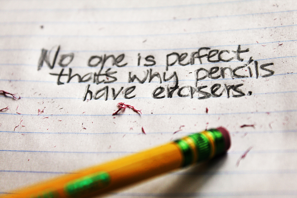 To the Perfectionist
